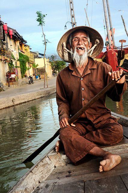 vietnamez in barca